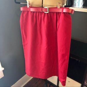 Vintage Alfred Dunner skirt with belt